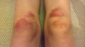 This is what happens when you dive headfirst into an imaginary toilet!