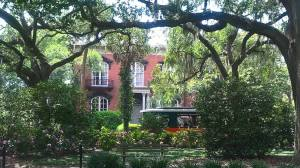 Classic downtown Savannah house