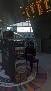 Piano playing in train stations, that's Manchester!