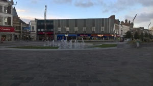 Stockton-on-Tees town centre, what a great place for a dance show
